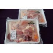 比内地鶏 正肉セット 1羽分(650g×2P) (JAあきた北央)