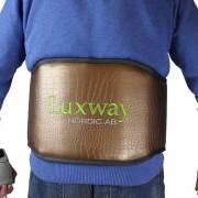 Luxway Infrabälte för rygg med turmalin