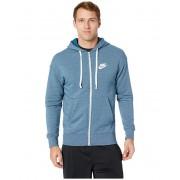 Nike NSW Heritage Hoodie Full Zip Blue ForceHeatherSail