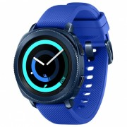 """samsung gear sport R600 1.2"""" super reloj inteligente AMOLED tactil con 4GB ROM? bluetooth - azul"""