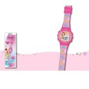 Dianey orologio principesse per bambine digitale in plastica new sport wd16830