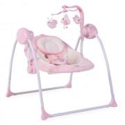 Muzička ležaljka ljuljaška za bebe Cangaroo Baby Swing Pink
