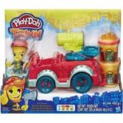 Комплект Плей До - Противопожарен камион - Hasbro, 033039