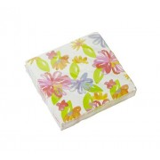 Spring Fling! Flower Art Beverage Napkins - 30 Pieces