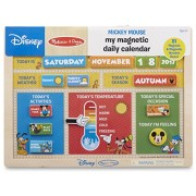 Melissa & Doug Mickey Mouse Clubhouse My Magnetic Daily Calendar