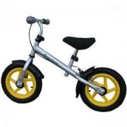Детско колело за баланс Training Bike - сиво, SPARTAN, S23161