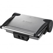 Bosch TFB4431V - 1800W Griller Contact Grill Smoke Silver / Anthracite