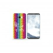 Funda Para Celular Samsung Galaxy S8 - Life Is Full Of Color
