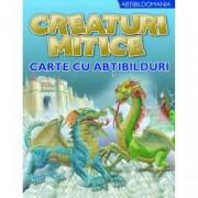 Creaturi mitice. Carte cu abtibilduri
