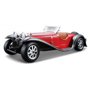 Bburago 1:24 Scale Bugatti Type 55 Diecast Vehicle (Colors May Vary) [Parallel Import Goods]