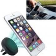 Air vent Universele Magneet Autohouder Voor Auto Ventilatierooster houder zwart Geschikt o.a. voor uw iPhone 4 / 4S / 5 / 5S / 6 / 6S / 6S Plus , Samsung Galaxy S5 S6 S7 Edge, HTC, Nokia, Huawei, LG, Sony etc.