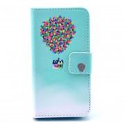 MULBA Para El IPhone 4S/4 Case Cover, Rasgo De Kickstand Caso De La Cartera De Cuero Sintético Para El IPhone 4S 4 De Apple