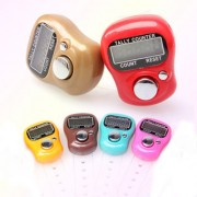 2 PCs Digital Counting Machine Puja Mantra Tasbeeh Tally Finger Counter(Assorted Colors)