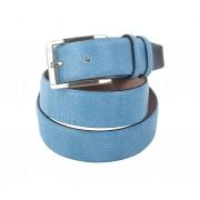 Melik Ledergürtel Orsino Blau - Blau 105
