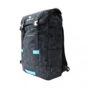 """Раница за лаптоп Dicallo LLB969017BB, до 17.3"""" (43.94 cm), полиестер, отделение за таблет, черна-синя"""