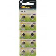 Hi-Watt Battery Industry Hi-Watt: AG3 (LR41) Batterier, 1,5V, Alkaline, 10-pack