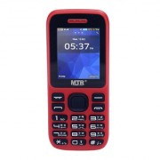 MTR MT-315 DUAL SIM MOBILE PHONE WITH 1.8 INCH SCREEN 800 MAH POWERFUL BATTERY AND LOUD SOUND RED COLOR