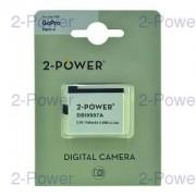 2-Power Digitalkamera Batteri GoPro 3.8V 1160mAh (AHDBT-401)