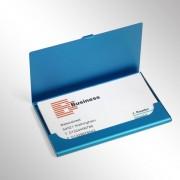 Suport carti de vizita din aluminiu