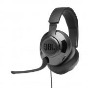 HEADPHONES, JBL QUANTUM 200, Gaming, Microphone, Black (JBLQUANTUM200BLK)