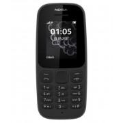 Nokia 105 (2017) Mobiltelefon, Kártyafüggetlen, Dual Sim, Fekete