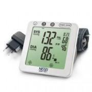Tensiometru electronic de brat Nissei DSK-1011 Memorare 60 de seturi Afisaj LCD Manseta 22-32 cm detectie aritmie Alimen