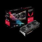 VGA Asus AREZ Strix Radeon RX VEGA64 OC Edition 8GB, AMD RX VEGA 64, 8GB, do 1590MHz, DP 2x, DVI-D, HDMI 2x, 36mj (AREZ-STRIX-RXVEGA64-O8G-GAMING)