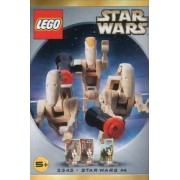 Star Wars Lego #3343 Figure Set Battle Droid Commander & 2 Battle Droids