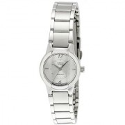 Casio Enticer Analog Silver Dial Womens Watch - Ltp-1230D-7Cdf (Sh35)