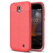 Capa de TPU Slim-Fit Premium para Nokia 1 - Vermelho