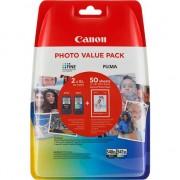 Pachet cartuse cerneala PG-540XL,CL-541 negru,cyan,magenta,galben original Canon 780 pagini