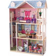 KidKraft My Dreamy Dollhouse Stof/Weefsel, Hout poppenhuis