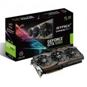 Placa video ASUS ROG Strix Gaming GeForce GTX 1060, 1531 (1746) MHz, 6GB GDDR5, 192-bit, DVI-D, 2x HDMI, 2x DP, STRIX-GTX1060-6G-GAMING