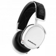 Геймърски слушалки SteelSeries, Arctis 7 White 2019 Edition 7.1, Микрофон, Бял, STEEL-HEAD-61508