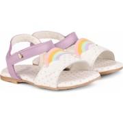 Sandale Fete Bibi Baby Birk Mov-Curcubeu 22 EU