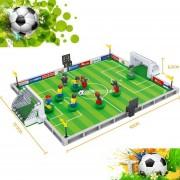 EB Kits De Creación De Modelos 3D De Fútbol De La Ciudad Modelo Educativo Bloques De Juguete Para Niños