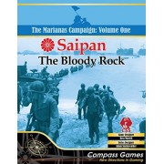 CPS Compass Games CPS: Saipan, The Bloody Rock, Board Game