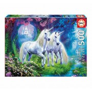 Puzzle Unicorns in the Forest, 500 piese