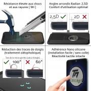 Samsung Galaxy A80 - Verre trempé TM Concept - Gamme Crystal