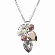 Colier cu cristale Swarovski FaBOS, Colour mix (rose) 7430-5811-03