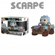 Funko Pop Mad Max Rick And Morty Rides Original Nuevo