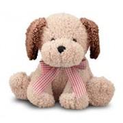 Catel Din Plus Cu Fundita Golden Puppy Melissa And Doug