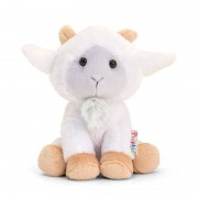 Keel Toys Witte geit/bok knuffeldier 14 cm