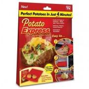 POTATO EXPRESS Mikrohullámú főző burgonya tasak