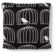 La Forma Sierkussen Alvin zwart/wit 100% katoen (45 x 45 cm)