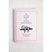 Urban Outfitters The Little Book of Sloth Philosophy par Jennifer McCartney- taille: ALL