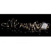 Star Trading Ljusslinga LED Dew Drop Silver 40 ljus 400cm