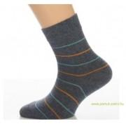 Gyerek zokni - Melírkék neon 33-34