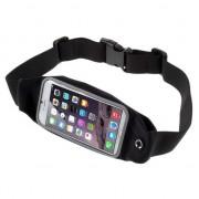 GadgetBay Sportband iPhone 6 6s et 7 8 - Course à pied - Sports - Hipband - Noir