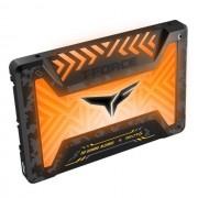"""SSD 2.5"""", 250GB, Team Group T-Force Delta S TUF RGB, SATA3, Black (T253ST250G3C312)"""